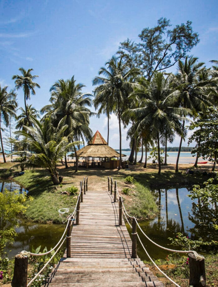 Beach club, BABA ecolodge