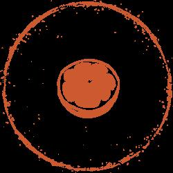 orange--stamp
